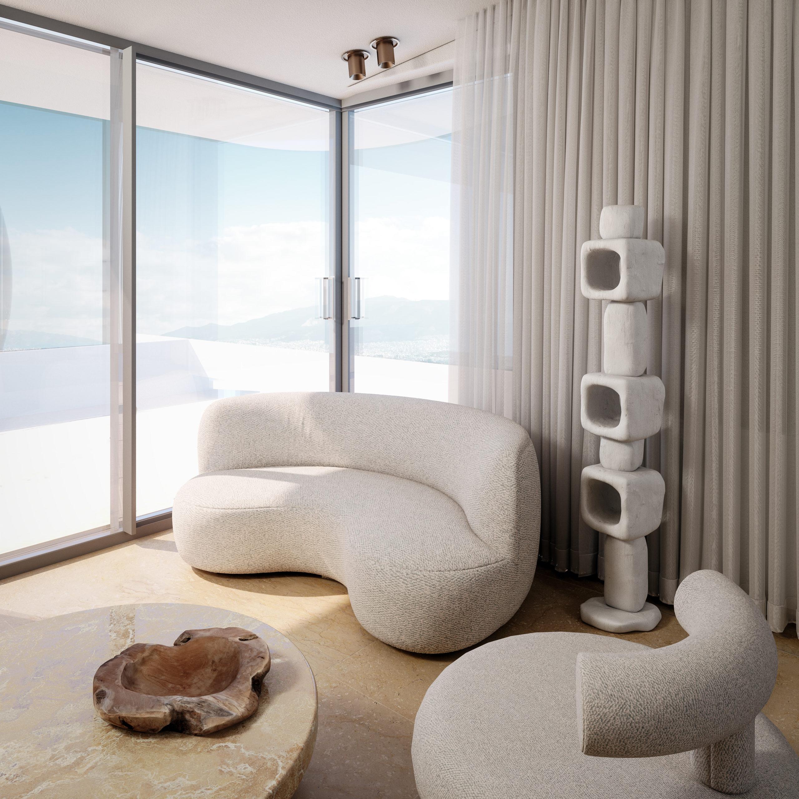 eclectic,neotenic interior apartment